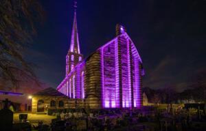 Ari Verbruggen Foto 1 Avond opname kerk en kerkhof