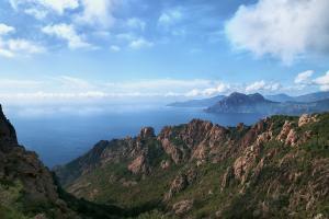 Corsica zeezicht