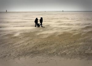 Heinz Schmitz Foto 2 aan het strand