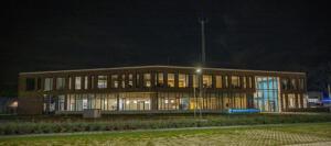 Ari Verbruggen Foto 1 , Kantoorgebouw avondopname