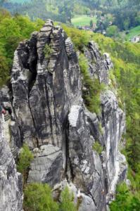 John Schwachöfer, Foto 2 Steile wand klimmer